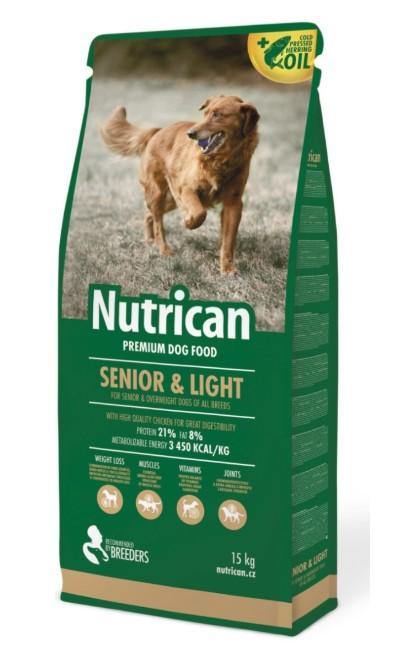 NutriCan Senior & Light 15kg