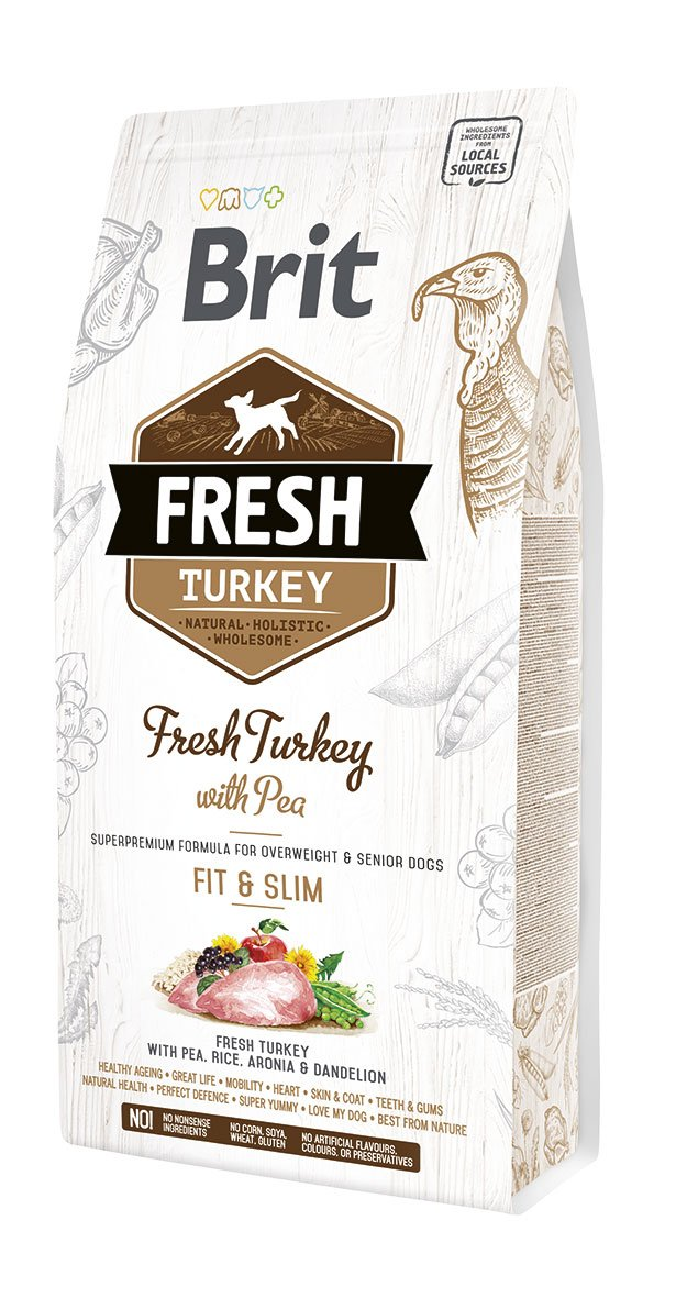 Brit Fresh Turkey & Pea Light Fit & Slim 2,5kg