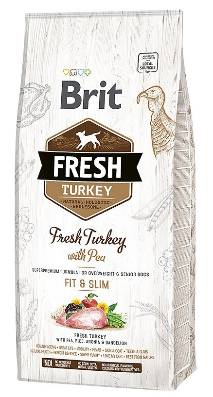 Brit Fresh Turkey & Pea Light Fit & Slim 12kg