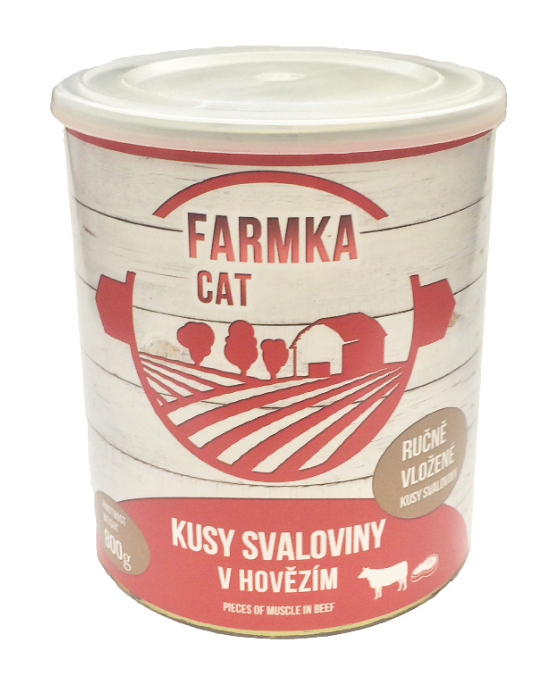 FARMKA CAT se svalovinou 800g