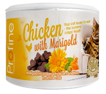 Profine Cat Crunchy Snack Chicken & Marigold 50g