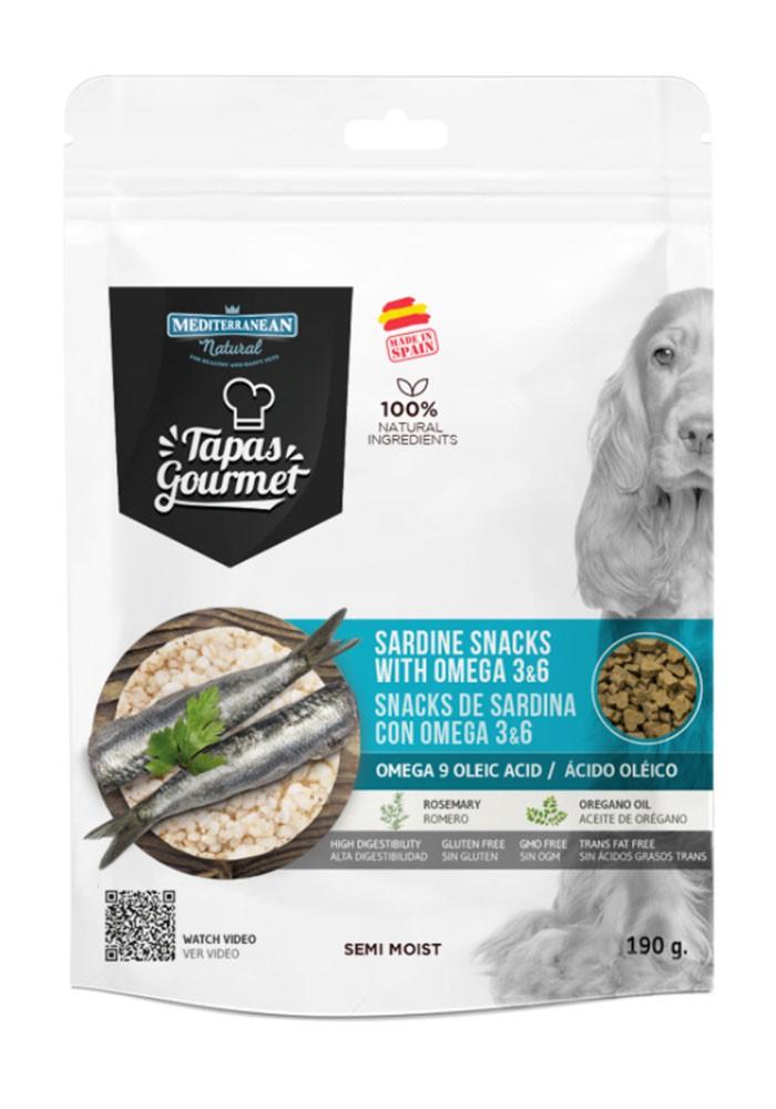 Tapas Gourmet sardinky & omega 3 a 6 (190g)