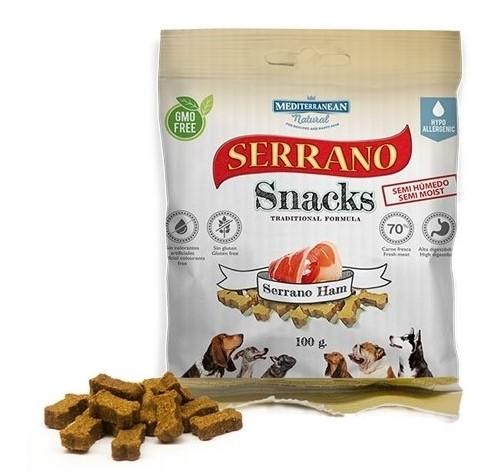 Serrano Snack Meditky šunkové 100g - tréninkové kostičky