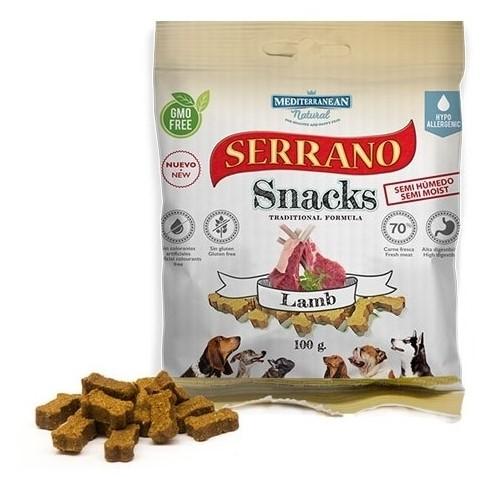Serrano Snack Meditky jehněčí 100g - tréninkové kostičky