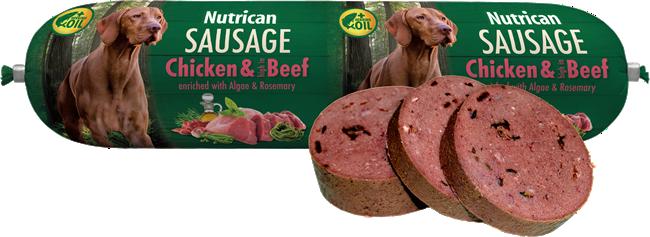 Nutrican Sausage Chicken & Beef 800 g