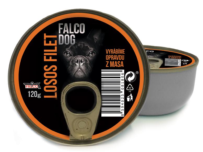 FALCO DOG losos filet 120g