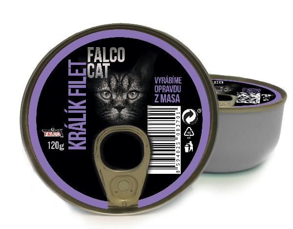 FALCO CAT králík filet 120g