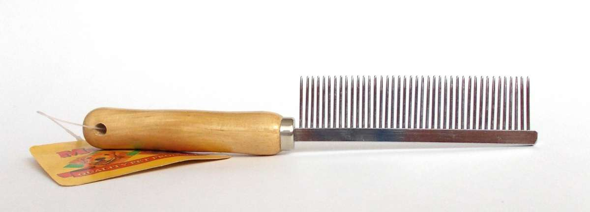Hřeben dřevěný hustý 10,5cm 3+1 ZDARMA