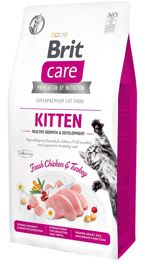 Brit Care Cat Grain-Free Kitten Healthy Growth & Development 7kg