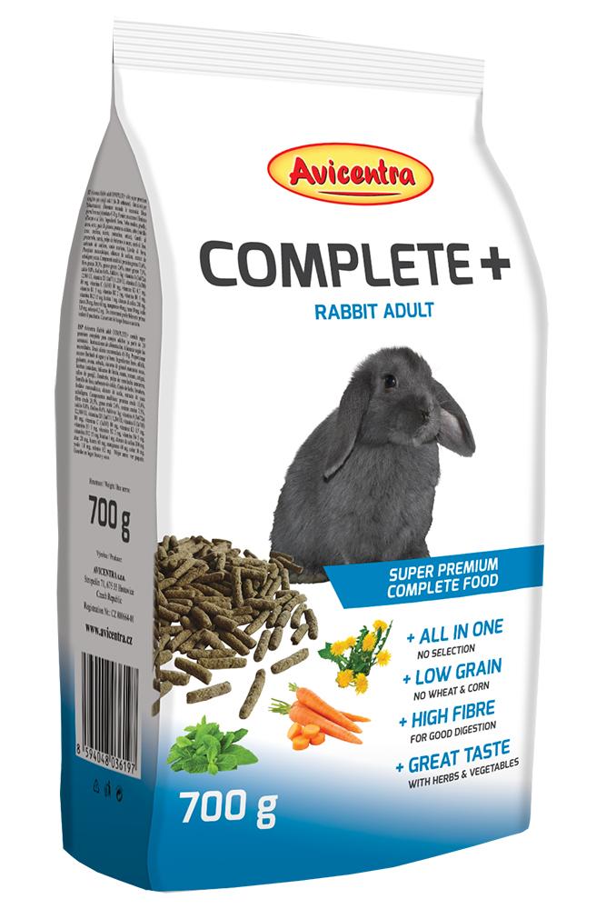Avicentra Králík adult Complete+ 700g