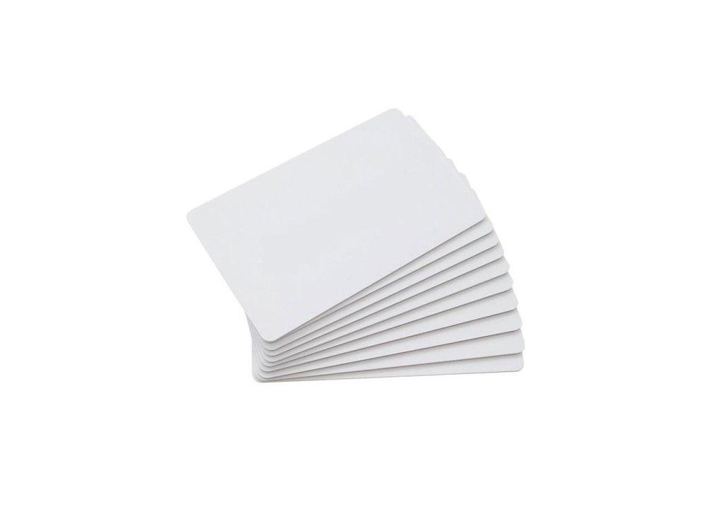 pvc blank white card 500x500