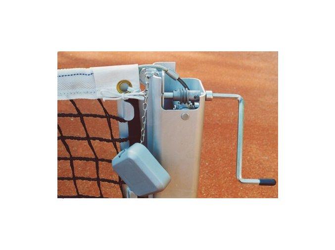tenis nekola sloupky square 80 ale elox čtyřhranný profil