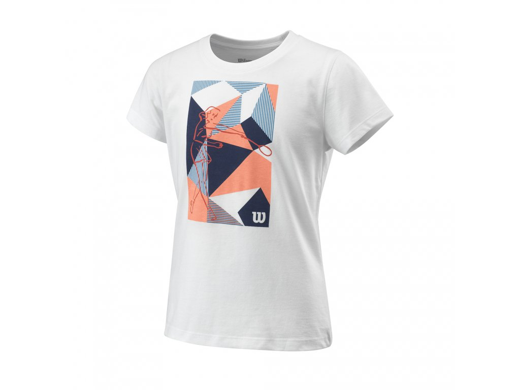 Wilson G Prism Play Tech Tee White