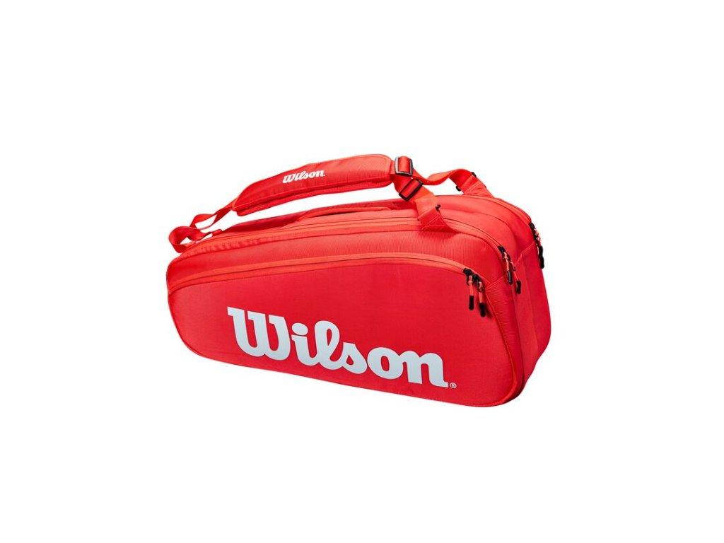 wilson super tour 9pk red