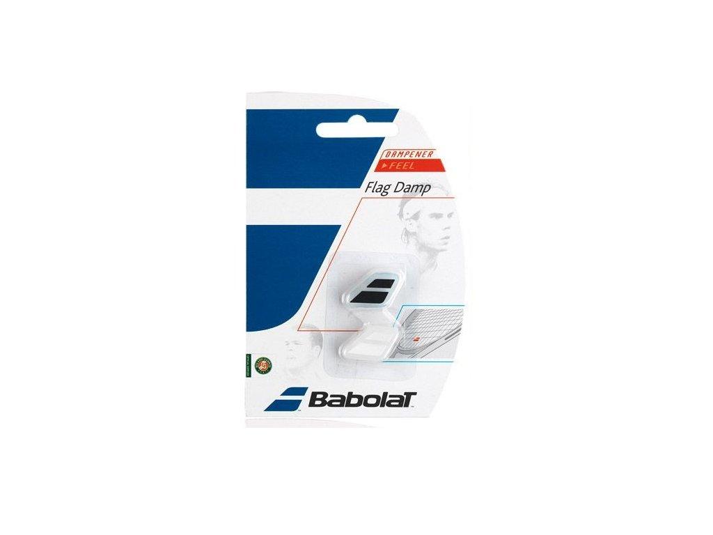 Babolat FLAG DAMP 1+1 bílá, černá