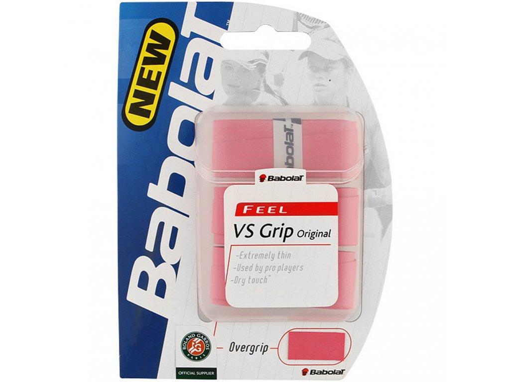 Babolat VS Grip Original X3+1 - růžová