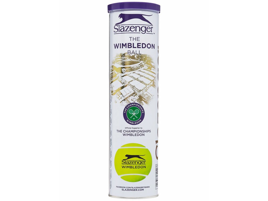Tenisové míče Slazenger Wimbledon 4 ks