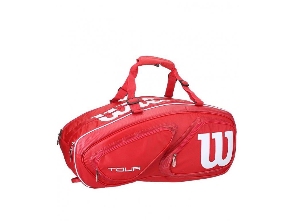 Tenisový bag Wilson TOUR V15 Pack Red 2016
