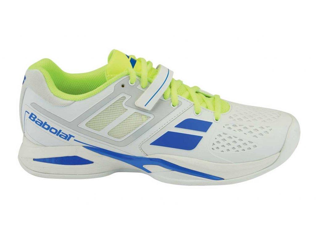 tenisová obuv Babolat Propulse BPM  Clay M - bílé (Velikost pánské UK 11 EU 46)