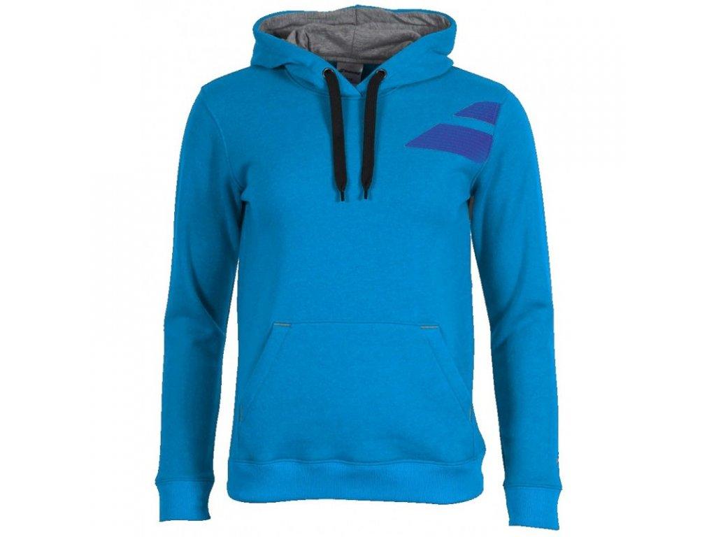 pánská mikina Babolat Sweat Training Men - světle modrá (Oblečení pánské XXL)