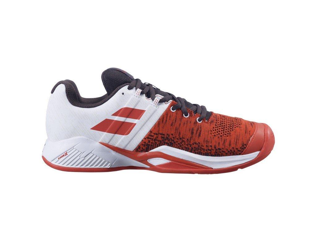 panska tenisova obuv babolat propulse blast clay red white 87411