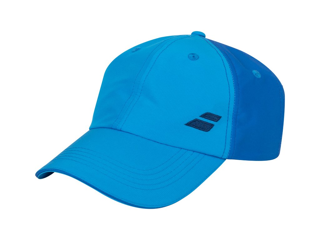 ksiltovka babolat basic logo cap junior blue aster 76359