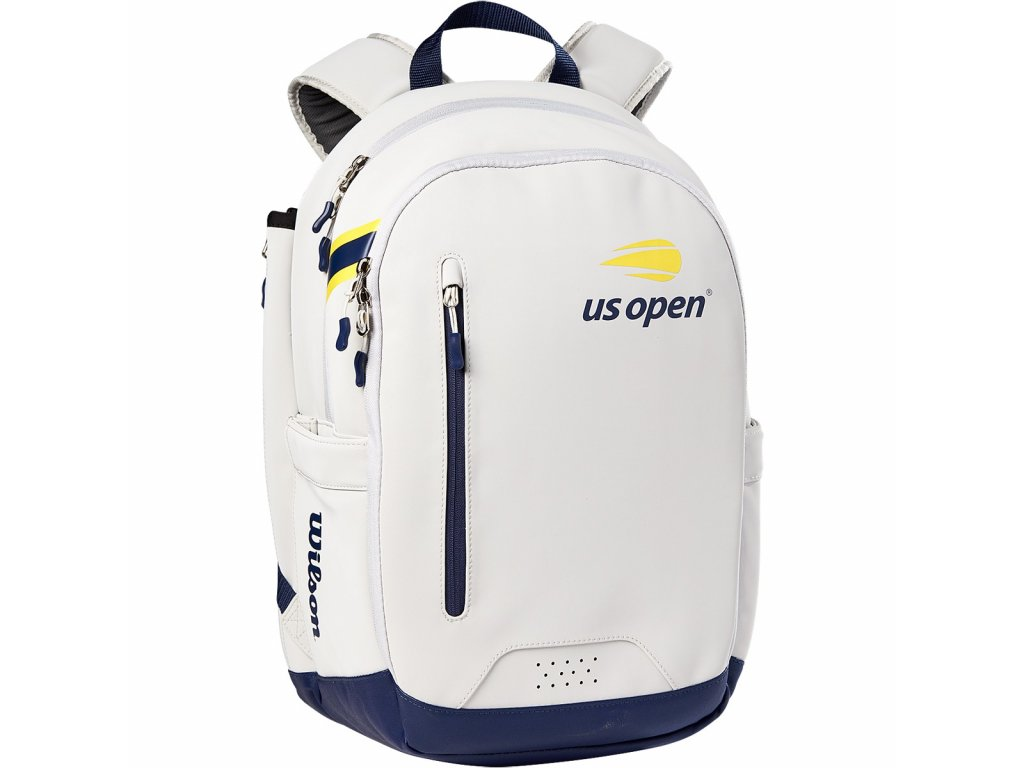 Tenisový batoh Wilson Us Open Tour Backpack Grey/Blue/Yellow