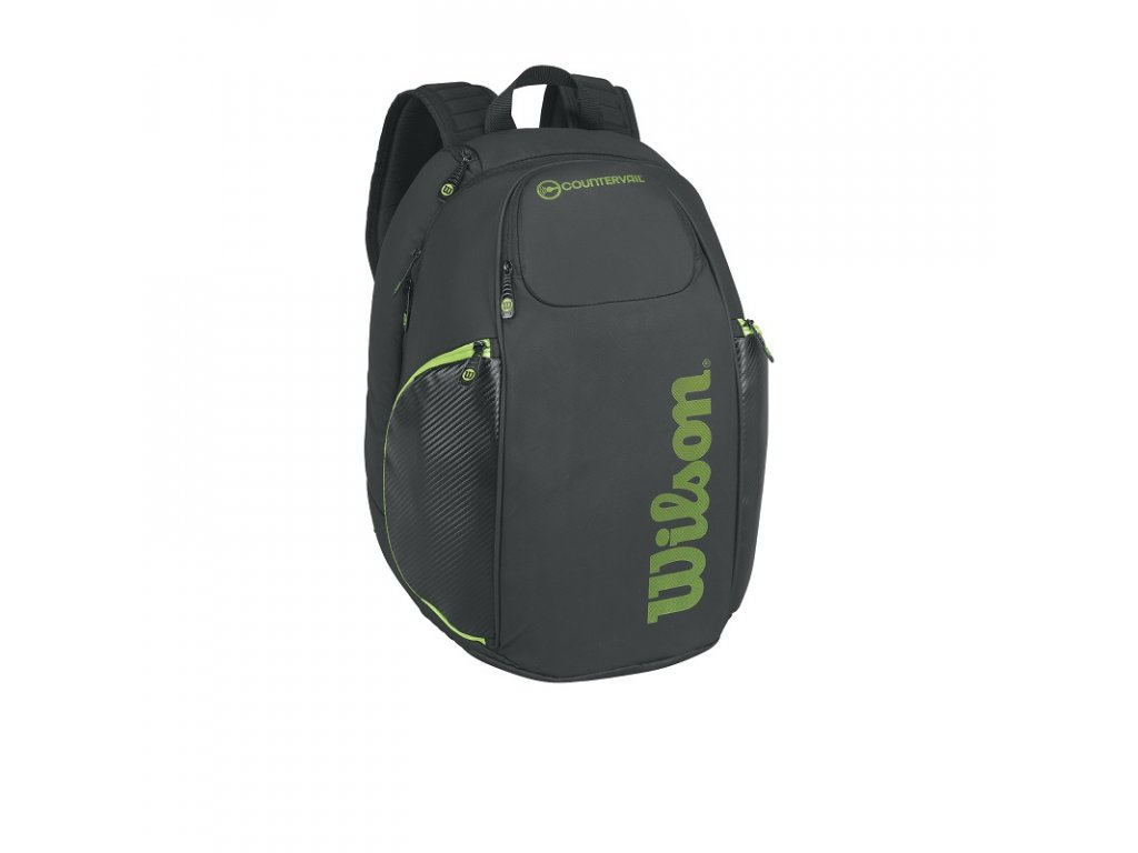 Tenisový batoh Wilson Vancouver Backpack black/lime