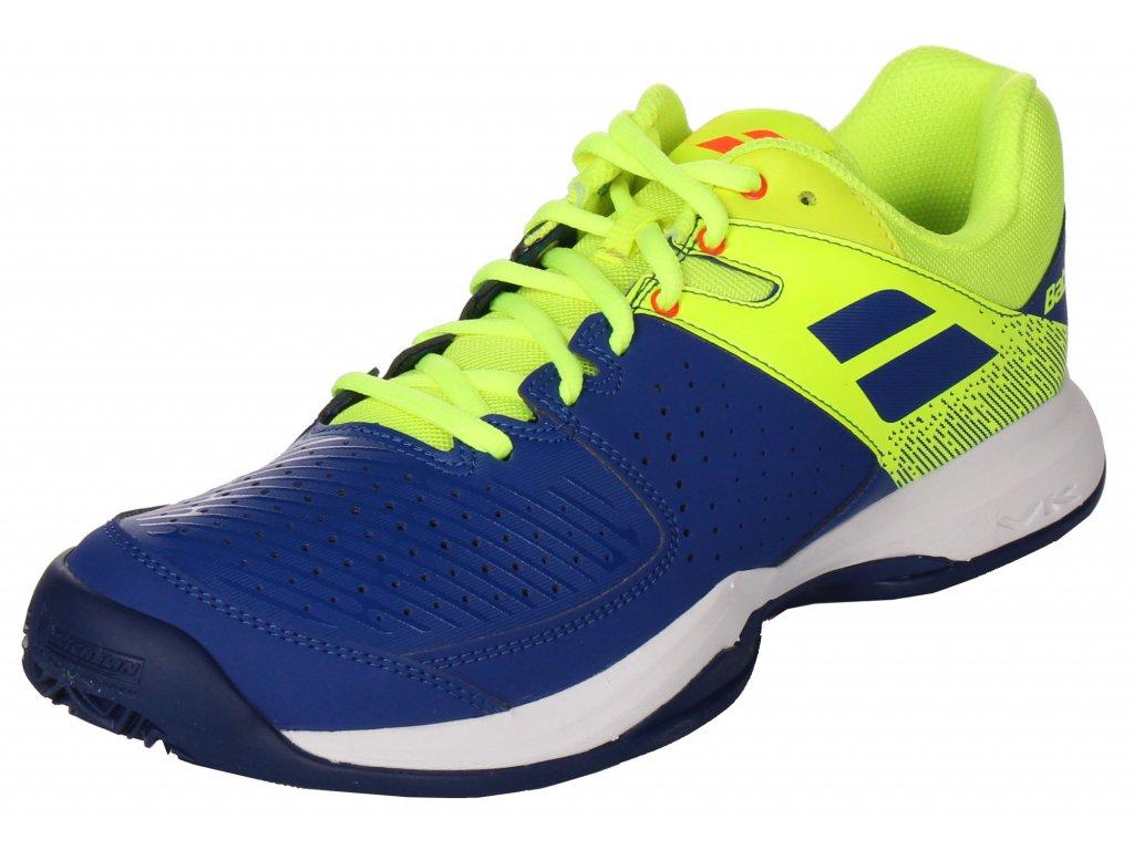 tenisová obuv Babolat Pulsion Clay Men - blue 2019