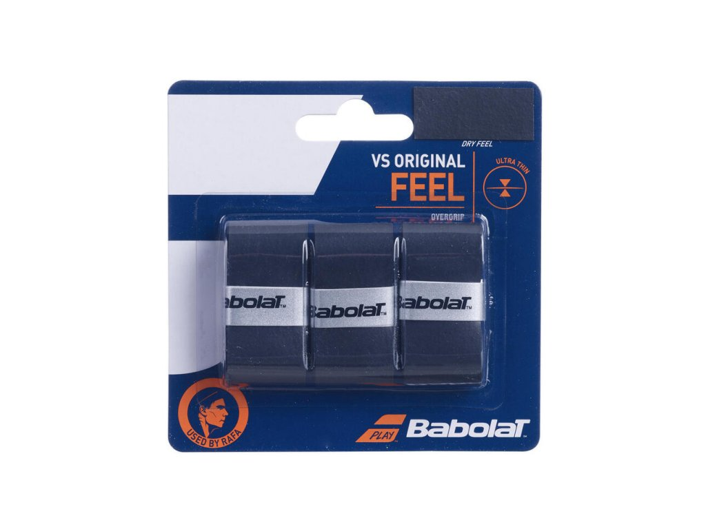 Babolat VS Grip Original French Open X3- černá