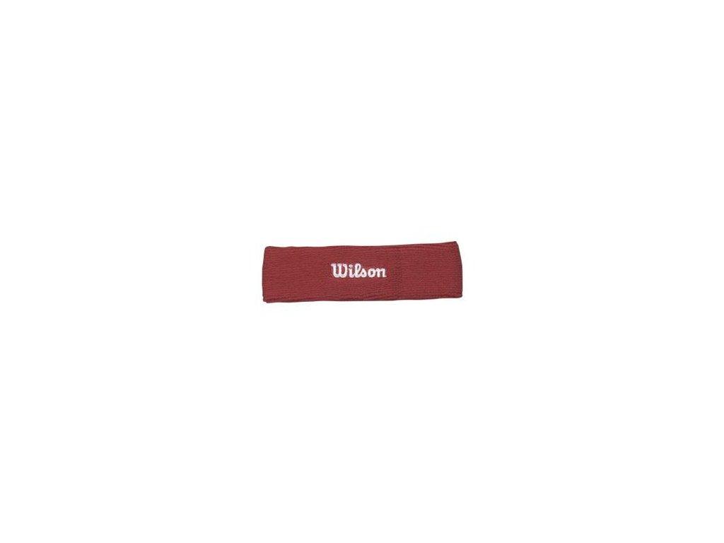 Čelenka Wilson Headband Bandeau Red