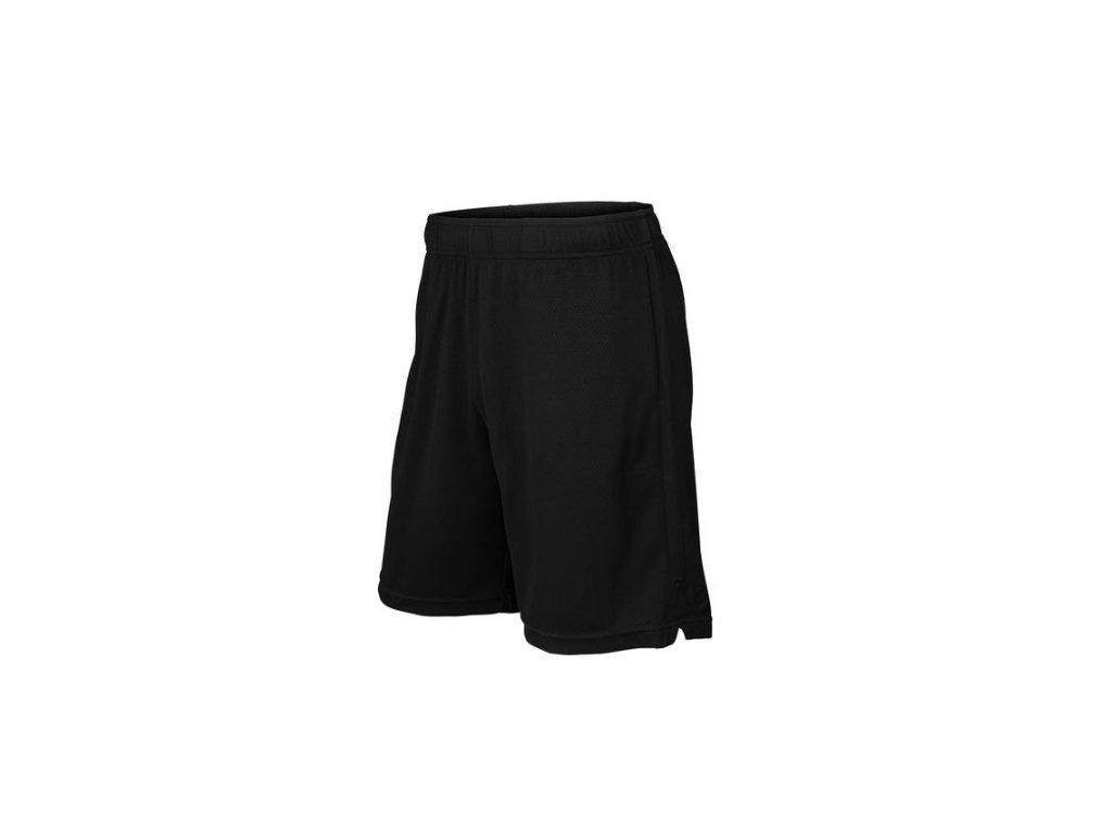 pánské šortky Wilson Knit 9 short black (Oblečení pánské XL)
