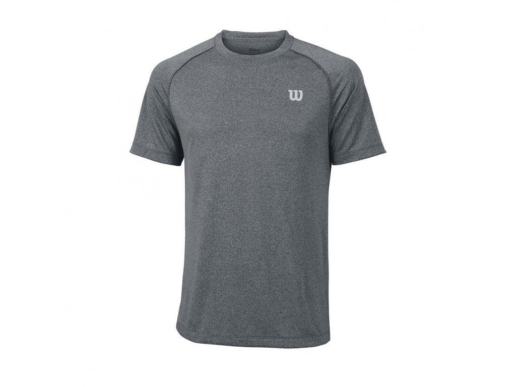 pánské tričko Wilson Men Core Crew Turbulence (Oblečení pánské M)