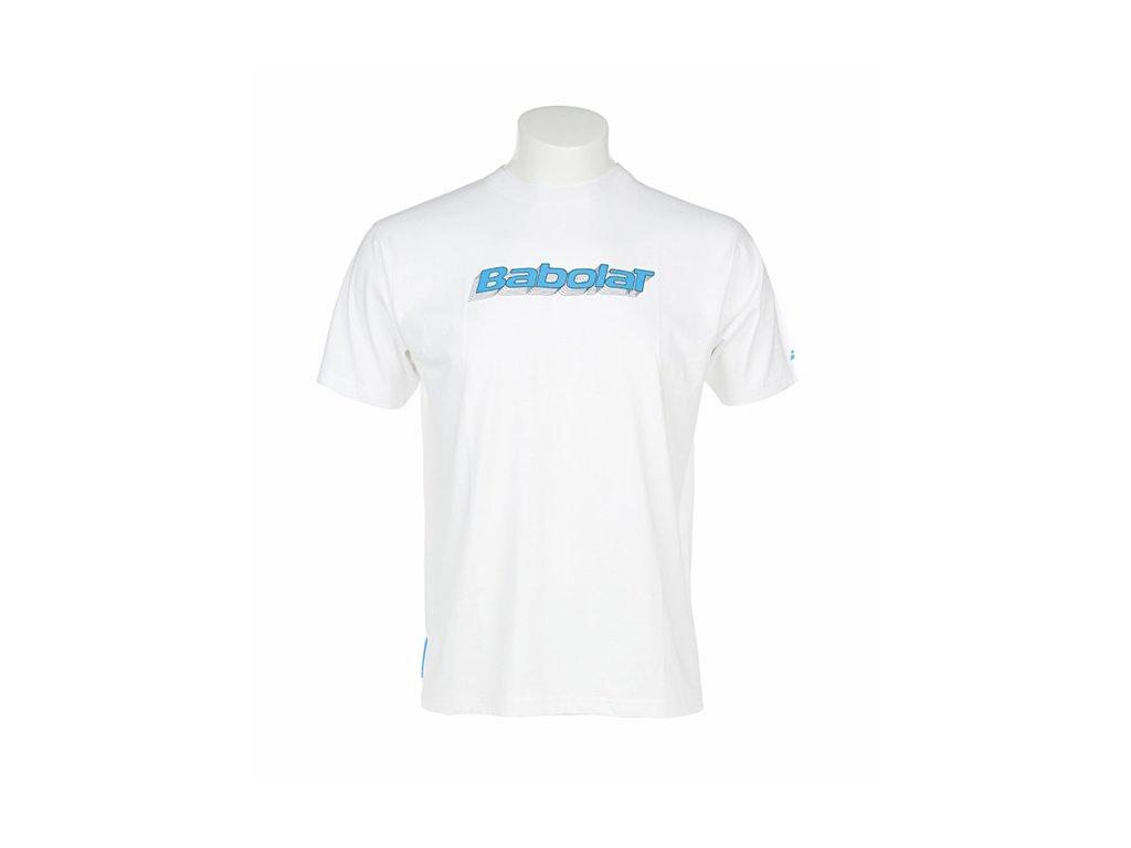 pánské tričko Babolat Tee-Shirt Men Training - bílá (Oblečení pánské XXL)
