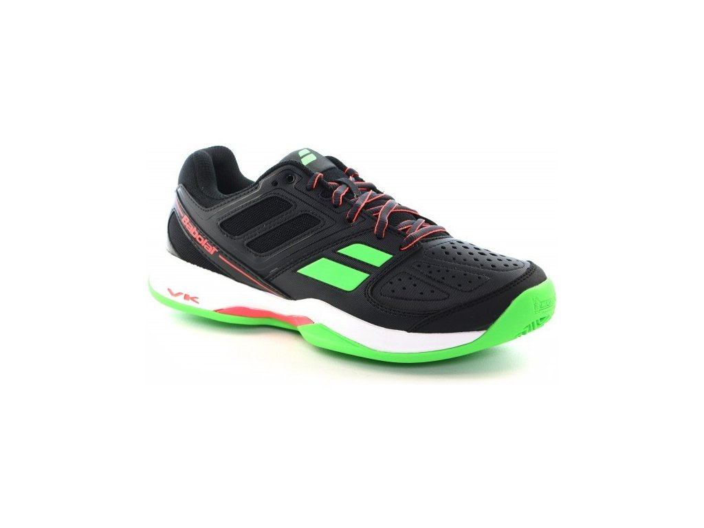 tenisová obuv Babolat Pulsion Clay  Junior černé