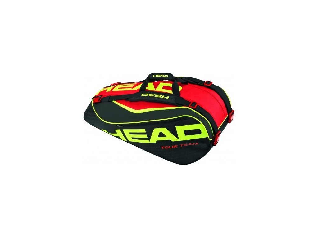 Tenisový bag HEAD Extreme 9R  Supercombi black/red