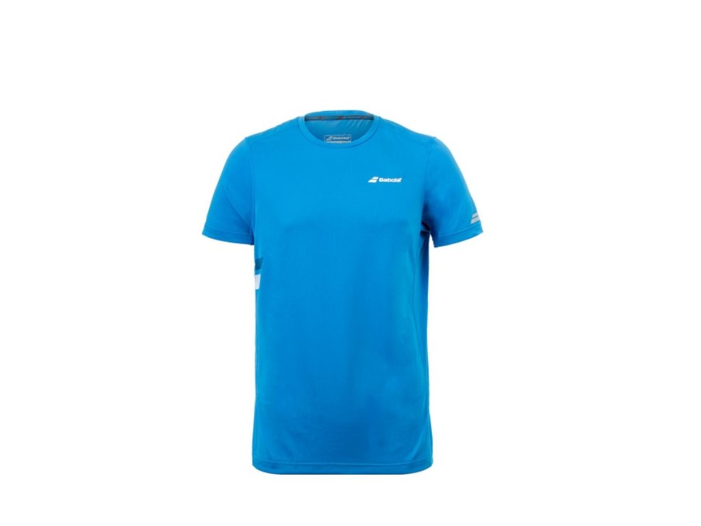 pánské tričko Babolat Core Flag Club Tee - modré