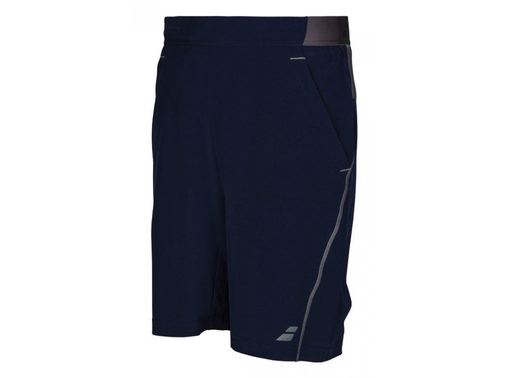 chlapecké sportovní šortky Babolat Perf Short Boy Xlong 9 - tmavě modré