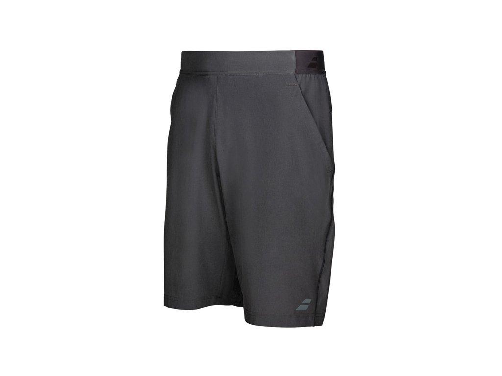 chlapecké sportovní šortky Babolat Perf Short Boy Xlong 9 - tmavě šedé