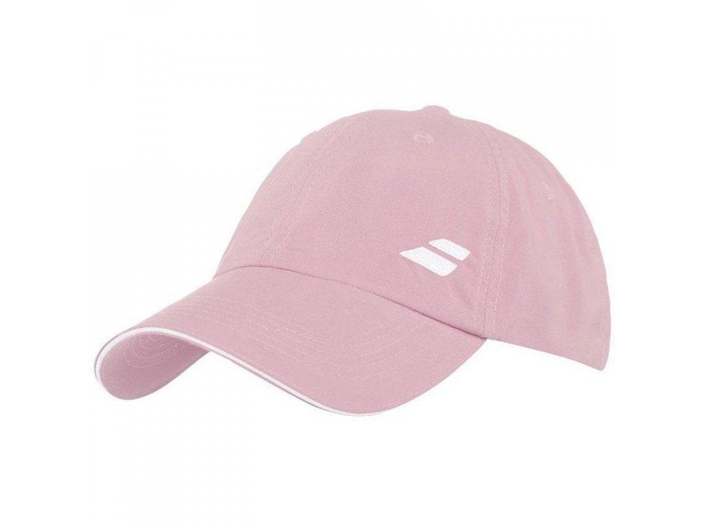 Babolat Basic Logo Cap světle růžová - kšiltovka