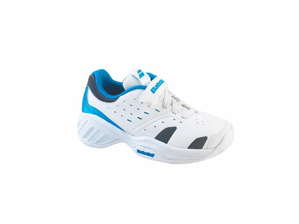 Tenisová obuv Babolat Pulsion Kid (Velikost Junior UK 13  EU 31)