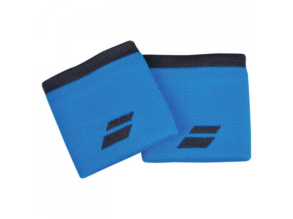 Tenisová potítka Babolat Logo Wristband - modré