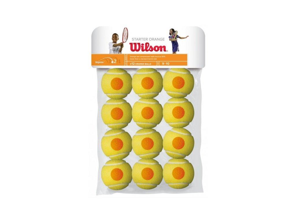 Tenisové míče Wilson Starter Orange X12