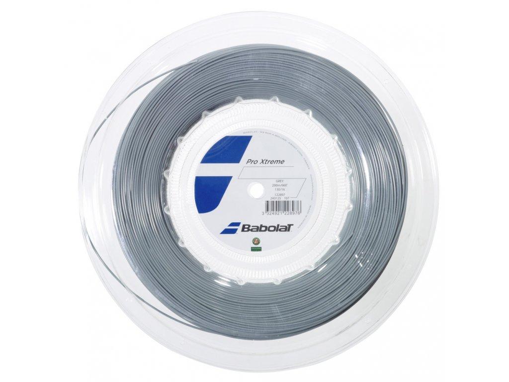 Tenisový výplet Babolat Pro Xtreme 200m - šedý