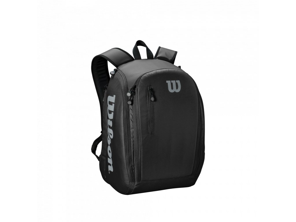 WRZ843995 Tour Backpack Black Grey Front
