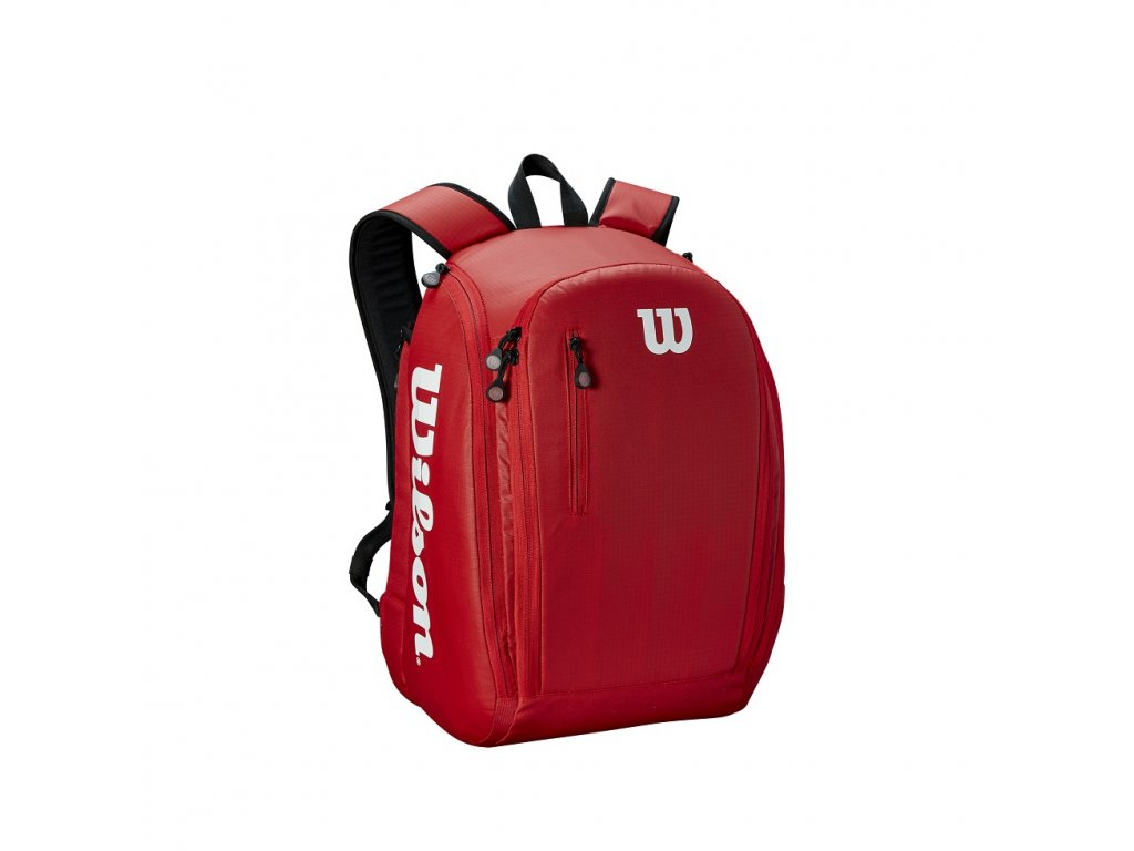 WRZ847996 Tour Backpack Red Black Front