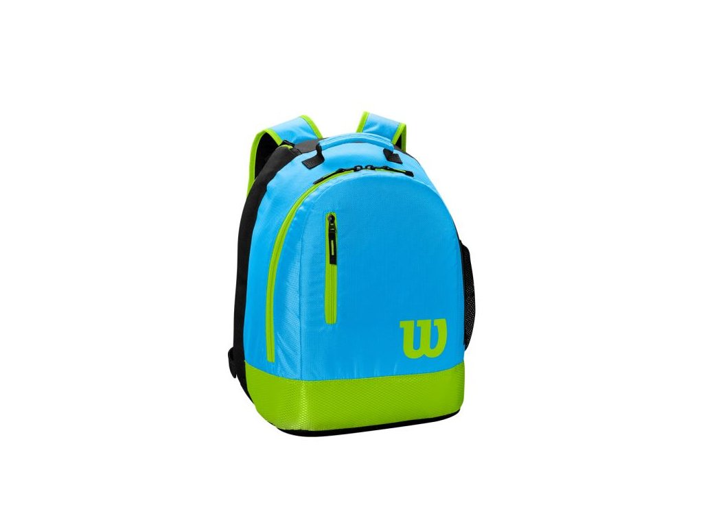 wilson youth backpack blue