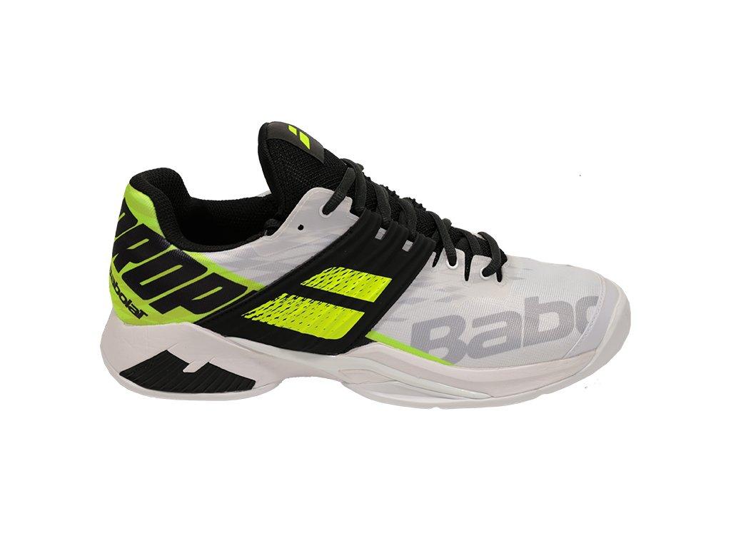 350260 panska tenisova obuv babolat propulse fury clay white 61049d