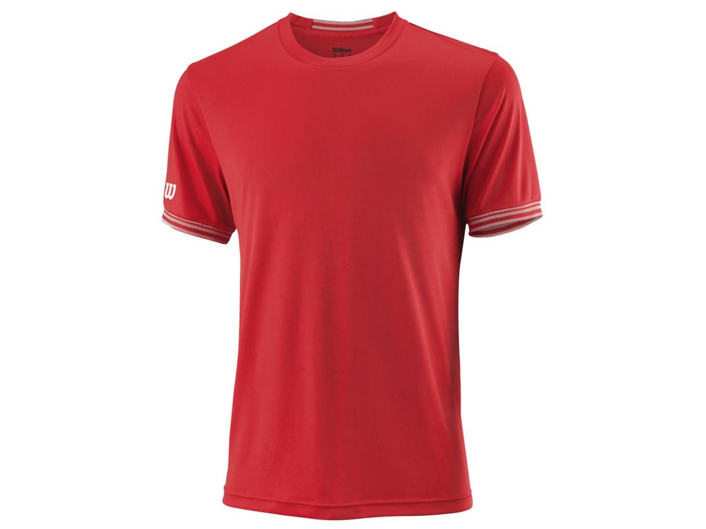 wilson team solid crew red