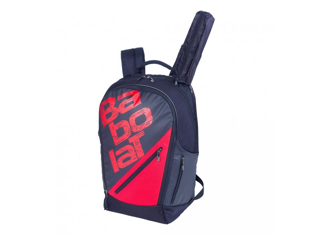 Team Line BackPack Expandable Black Red